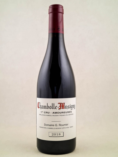 "Georges Roumier - Chambolle Musigny 1er cru ""Amoureuses"" 2018"