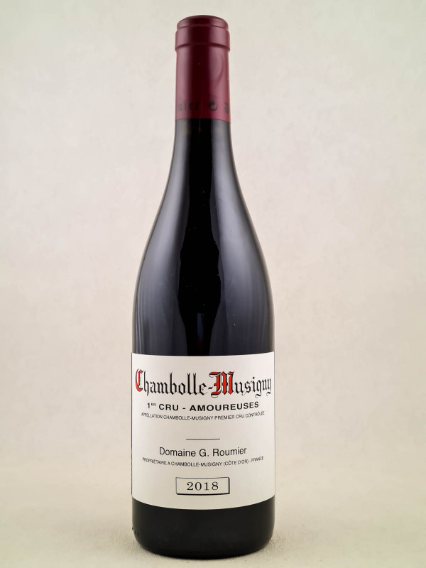 """Georges Roumier - Chambolle Musigny 1er cru """"Amoureuses"""" 2018"""