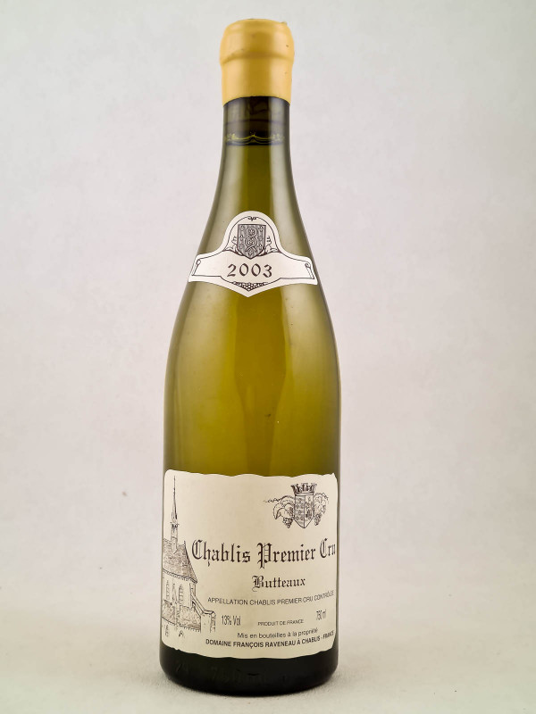 "Raveneau - Chablis 1er cru ""Butteaux"" 2003"