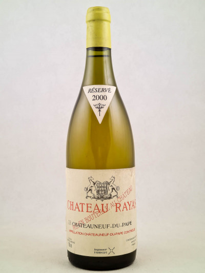 Rayas blanc - Châteauneuf du Pape 2000