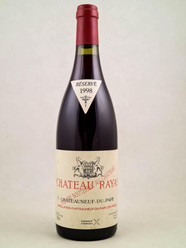 Rayas - Châteauneuf du Pape 1998
