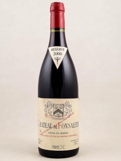 Fonsalette Syrah - Côtes du Rhône 2000