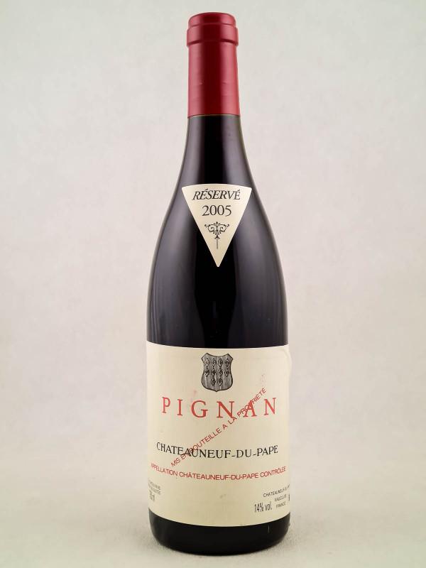 Pignan - Châteauneuf du Pape 2005