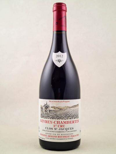"Armand Rousseau - Gevrey Chambertin 1er cru ""Clos Saint Jacques"" 2012"