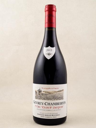 "Armand Rousseau - Gevrey Chambertin 1er cru ""Clos Saint Jacques"" 2015"