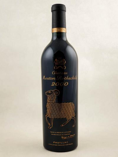 Mouton Rothschild - Pauillac 2000