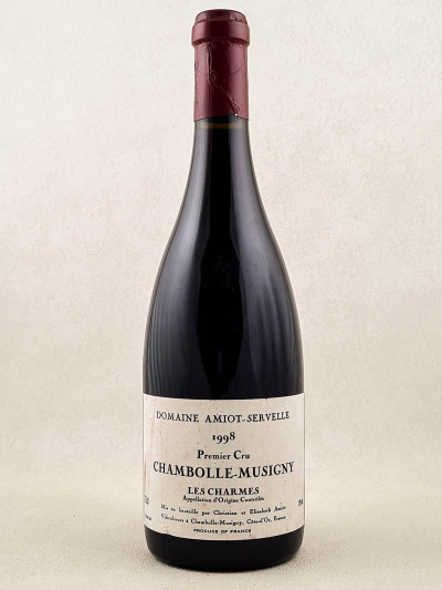 "Amiot Servelle - Chambolle Musigny 1er cru ""Les Charmes"" 1998"