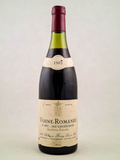 "Forey - Vosne Romanée 1er cru ""Les Gaudichots"" 1985"