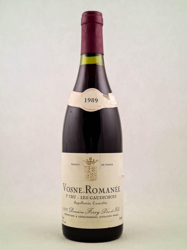 "Forey - Vosne Romanée 1er cru ""Les Gaudichots"" 1989"