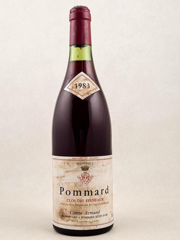 """Comte Armand - Pommard 1er cru """"Clos des Epeneaux"""" 1983"""