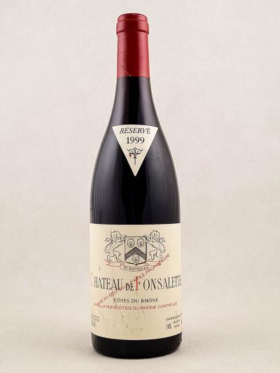 Fonsalette - Côtes du Rhône 1999