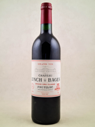 Lynch Bages - Pauillac 2002