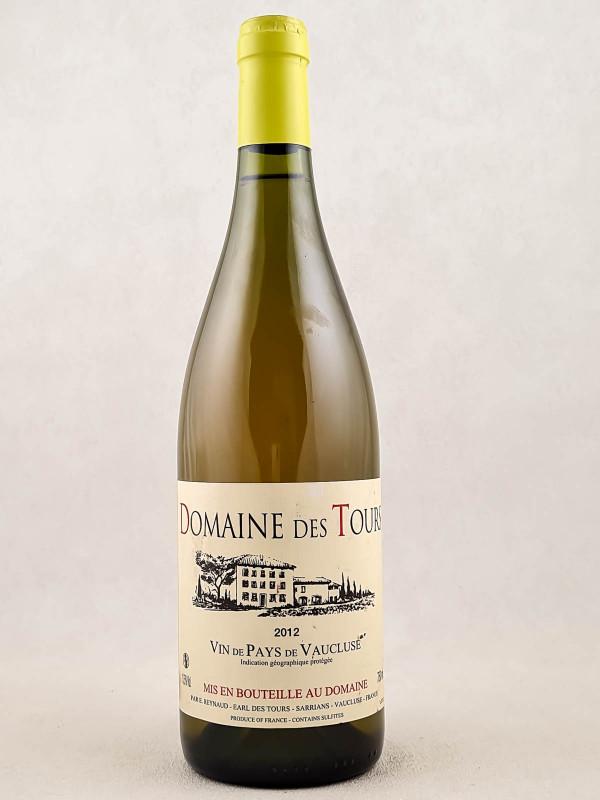 Domaine des Tours blanc - Vin de Pays du Vaucluse 2012