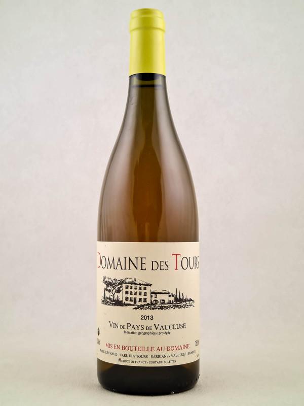 Domaine des Tours blanc - Vin de Pays du Vaucluse 2013