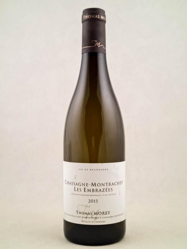 """Thomas Morey - Chassagne Montrachet 1er cru """"Les Embrazées"""" 2015"""