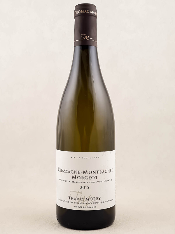 "Thomas Morey - Chassagne Montrachet 1er cru ""Morgeot"" 2015"