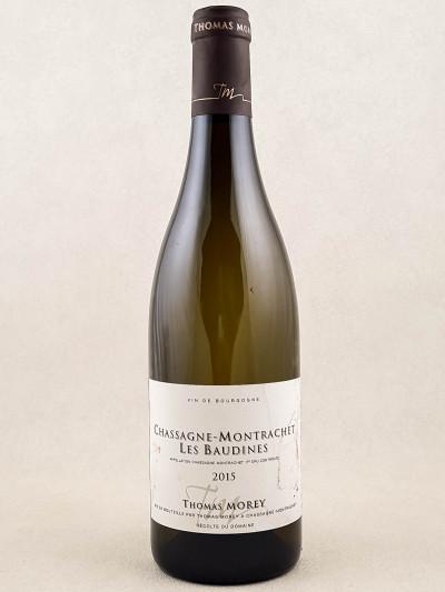 "Thomas Morey - Chassagne Montrachet 1er cru ""Les Baudines"" 2015"