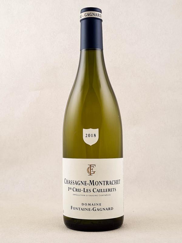 "Fontaine-Gagnard - Chassagne Montrachet 1er cru ""Les Caillerets""2018"