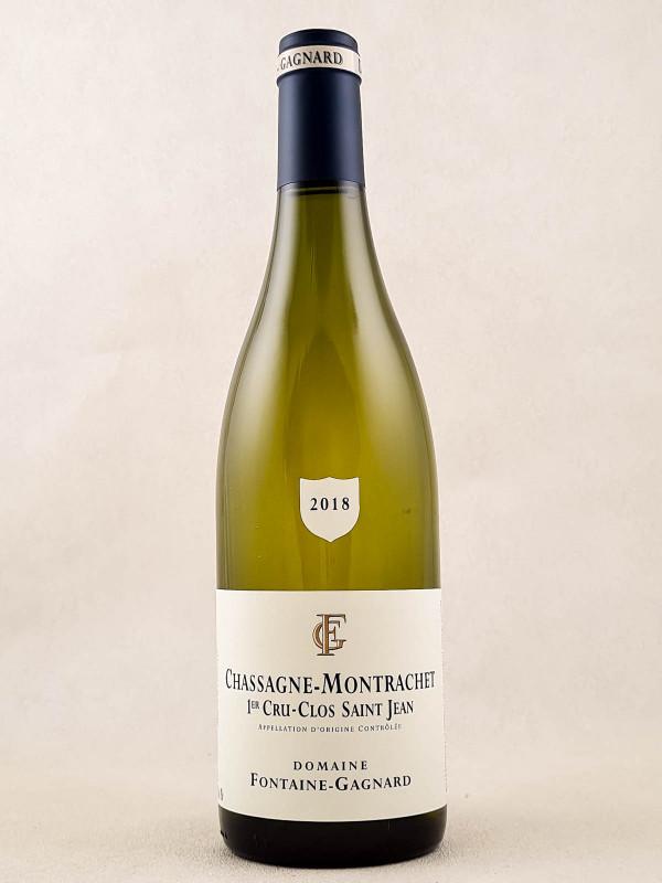 "Fontaine-Gagnard - Chassagne Montrachet 1er cru ""Clos St Jean"" 2018"