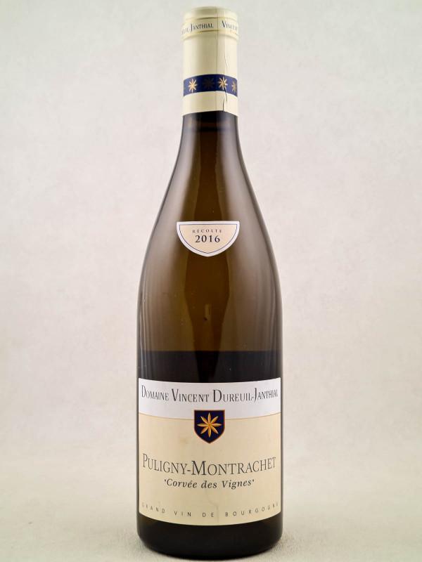 """Dureuil Janthial - Puligny Montrachet """"Corvées des Vignes"""" 2016"""