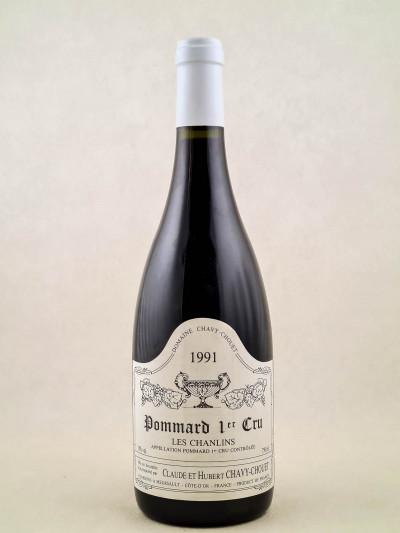 "Chavy Chouet - Pommard 1er cru ""Les Chanlins"" 1991"
