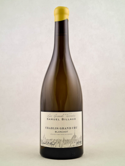 "Samuel Billaud - Chablis grand cru ""Blanchot"" 2018"