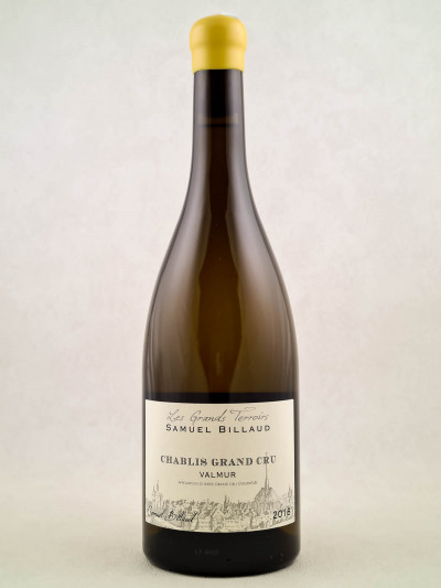 "Samuel Billaud - Chablis grand cru ""Valmur"" 2018"