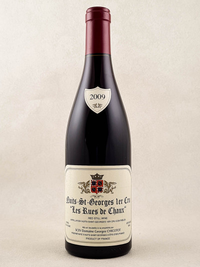 """Chicotot - Nuits Saint Georges 1er cru """"Les Rues de Chaux"""" 2009"""