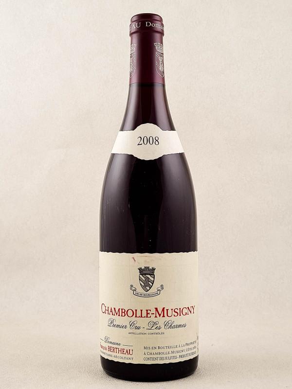 "François Bertheau - Chambolle Musigny 1er cru ""Les Charmes"" 2008"