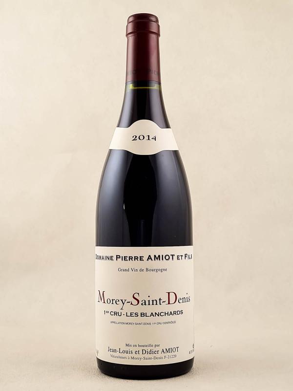"Pierre Amiot - Morey Saint Denis 1er cru ""Les Blanchards"" 2014"
