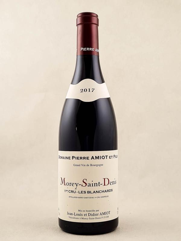 "Pierre Amiot - Morey Saint Denis 1er cru ""Les Blanchards"" 2017"
