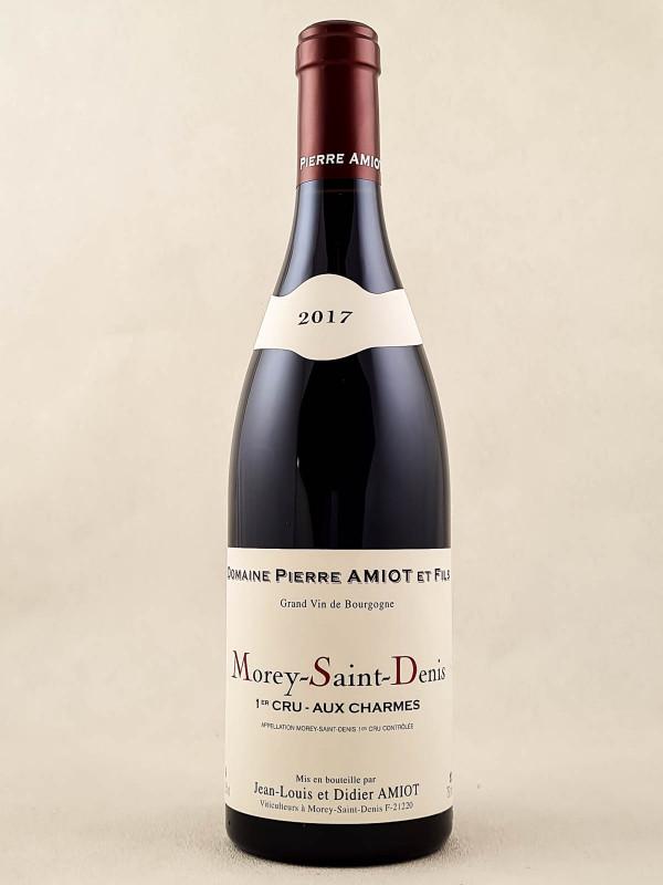 """Pierre Amiot - Morey Saint Denis 1er cru """"Aux Charmes"""" 2017"""