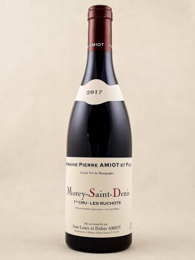 """Pierre Amiot - Morey Saint Denis 1er cru """"Les Ruchots"""" 2017"""