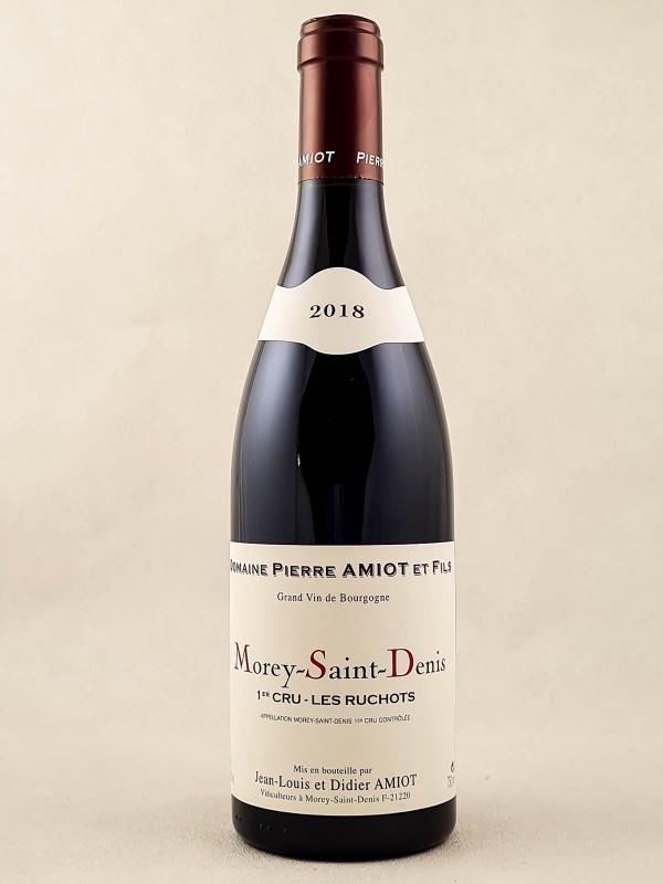 """Pierre Amiot - Morey Saint Denis 1er cru """"Les Ruchots"""" 2018"""