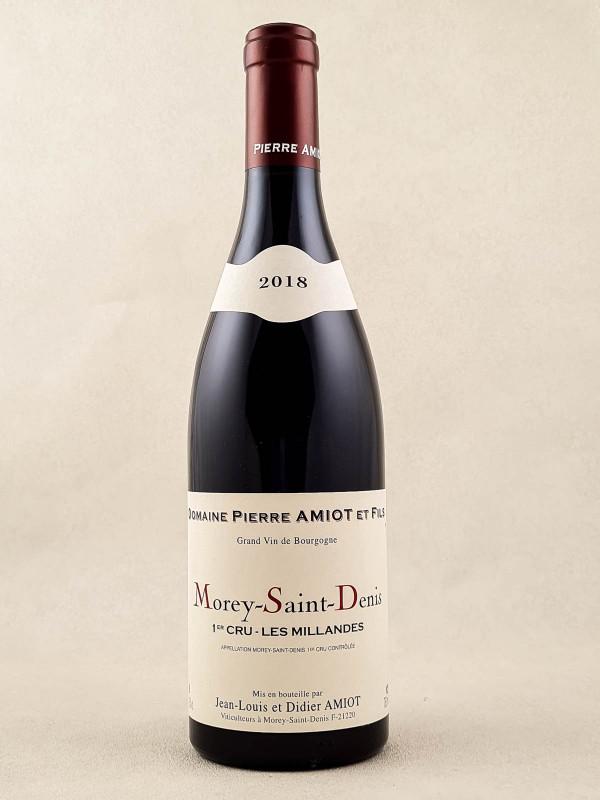 """Pierre Amiot - Morey Saint Denis 1er cru """"Les Millandes"""" 2018"""