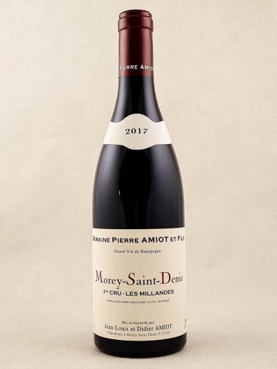 """Pierre Amiot - Morey Saint Denis 1er cru """"Les Millandes"""" 2017"""