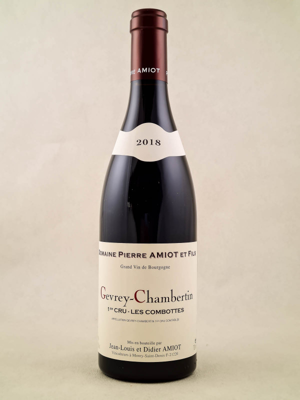 "Pierre Amiot - Gevrey Chambertin 1er cru ""Les Combottes"" 2018"