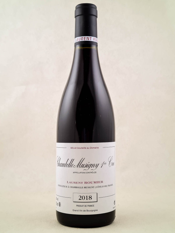 Laurent Roumier - Chambolle Musigny 1er cru 2018