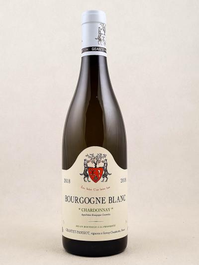 Geantet Pansiot - Bourgogne Chardonnay 2018