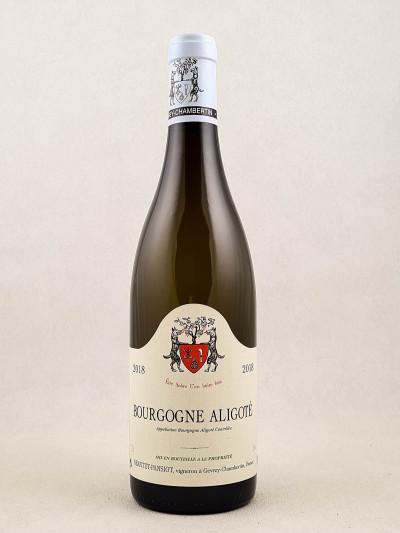 Geantet Pansiot - Bourgogne Aligoté 2018
