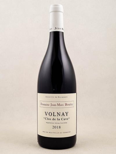 """Jean Marc Bouley - Volnay """"Clos de la Cave"""" 2018"""