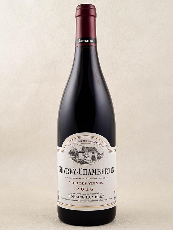 "Humbert - Gevrey Chambertin ""Vieilles Vignes"" 2018"