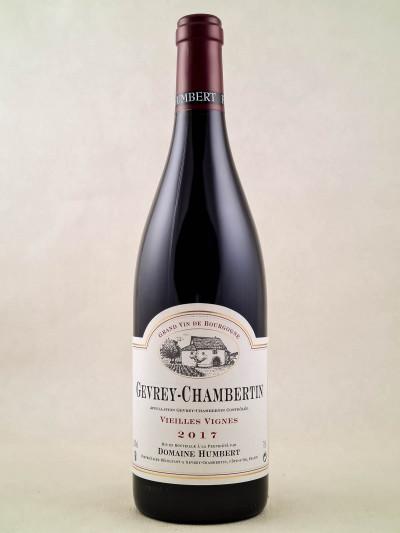 "Humbert - Gevrey Chambertin ""Vieilles Vignes"" 2017"