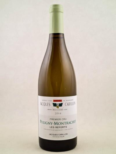"""Jacques Carillon - Puligny Montrachet 1er cru """"Les Referts"""" 2014"""