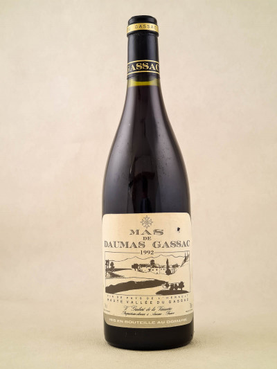 Mas de Daumas Gassac - Vin de Pays de l'Hérault 1992