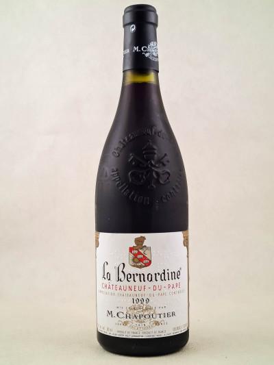 """Chapoutier - Châteauneuf du Pape """"La Bernardine"""" 1999"""