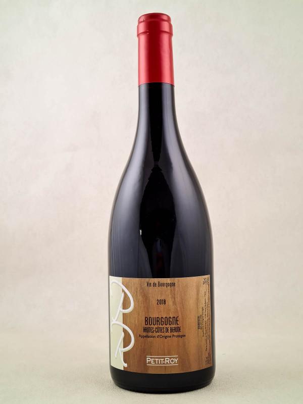 """Petit Roy - Bourgogne """"Hautes Côtes de Beaune"""" 2018"""