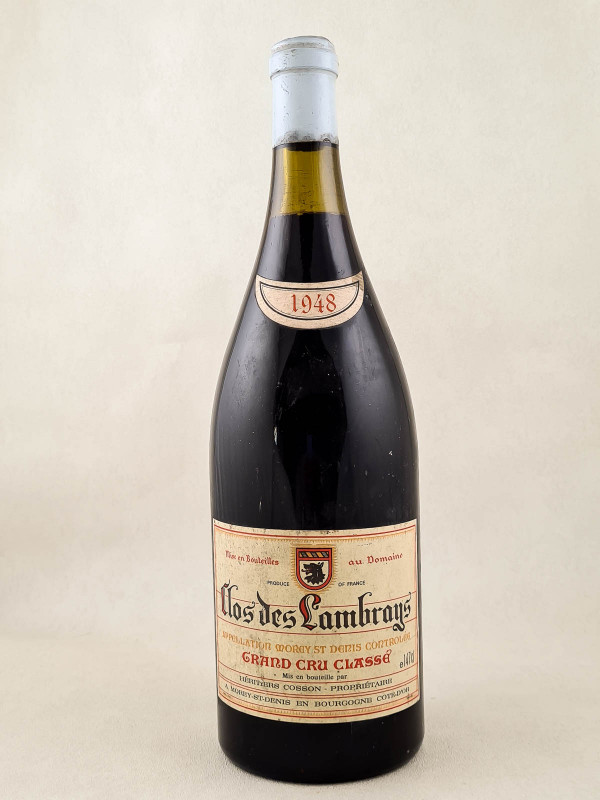 Clos des Lambrays - Héritiers Cossons 1948 MAGNUM