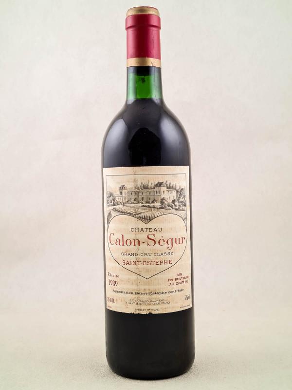 Calon Ségur - Saint Estèphe 1989