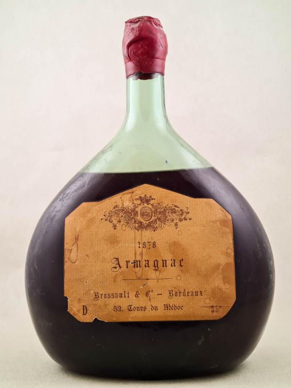 Brossault - Armagnac 1878 JEROBOAM
